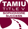 TAMIU sophomore success logo